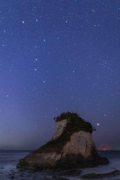 千葉・夫婦岩の星空 その4