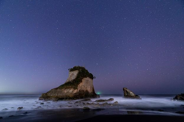 千葉・夫婦岩の星空 その5