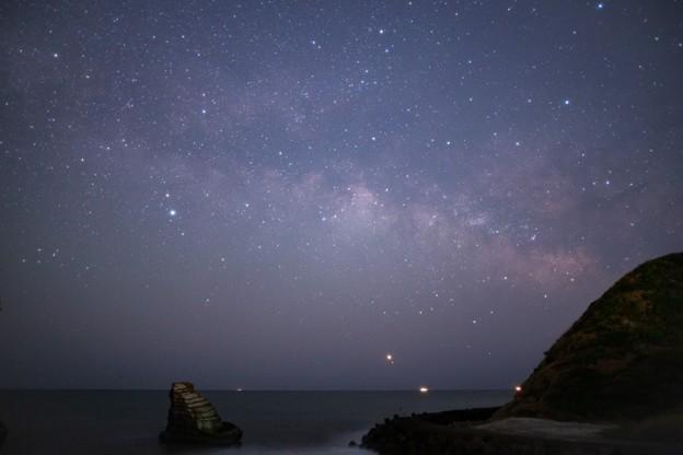 千葉・雀島(夫婦岩)星撮り(3/7)