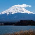 河口湖・大石公園より望む富士山(1/6)