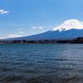 河口湖・大石公園より望む富士山(2/6)