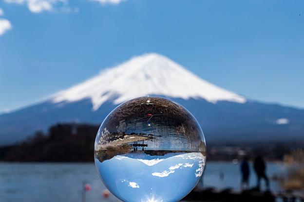 河口湖・大石公園より望む富士山(6/6)