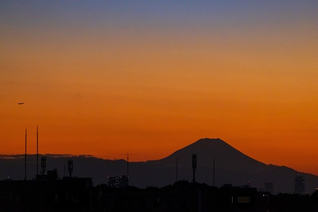 Photos: 屋上夕焼け その2