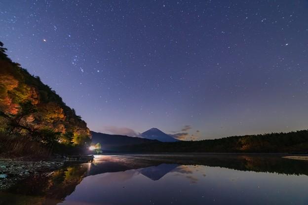山梨・西湖の星空 その1