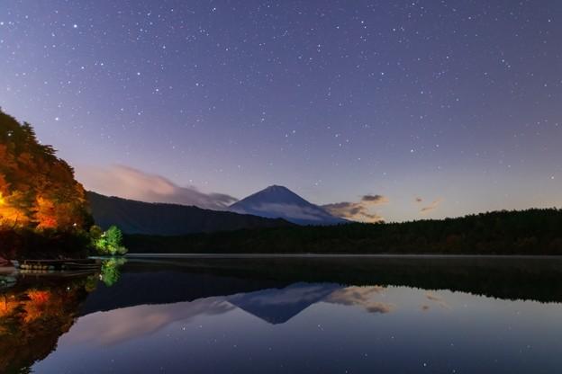 山梨・西湖の星空 その2
