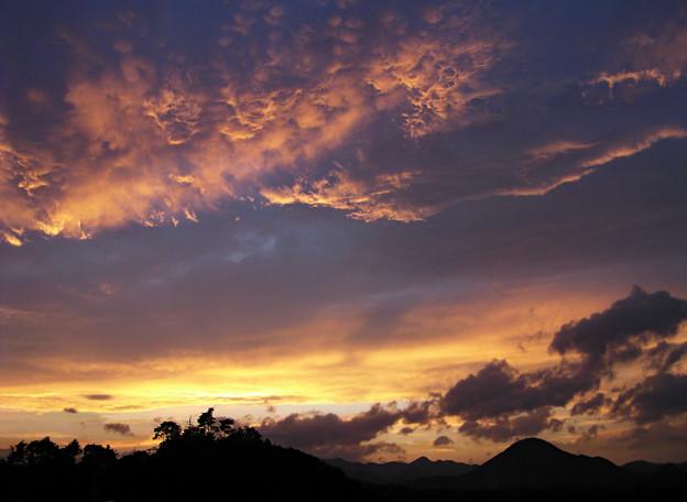 ウロコヒツジ毛玉雲の拡散