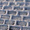Photos: 雪の幾何学模様1