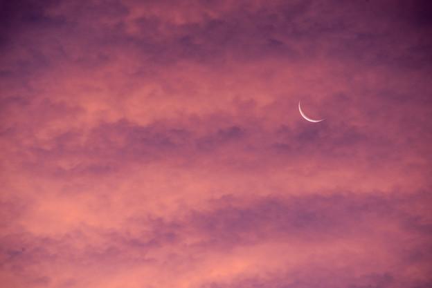 朝焼けのCrescent
