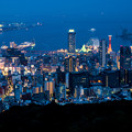 写真: 神戸港夜景