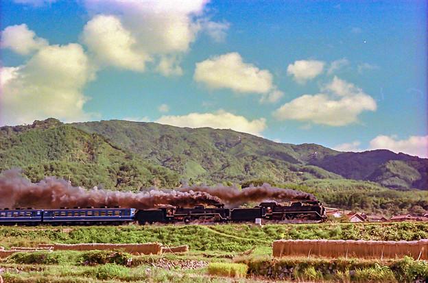山口線 津和野ー船平山 C581+C571