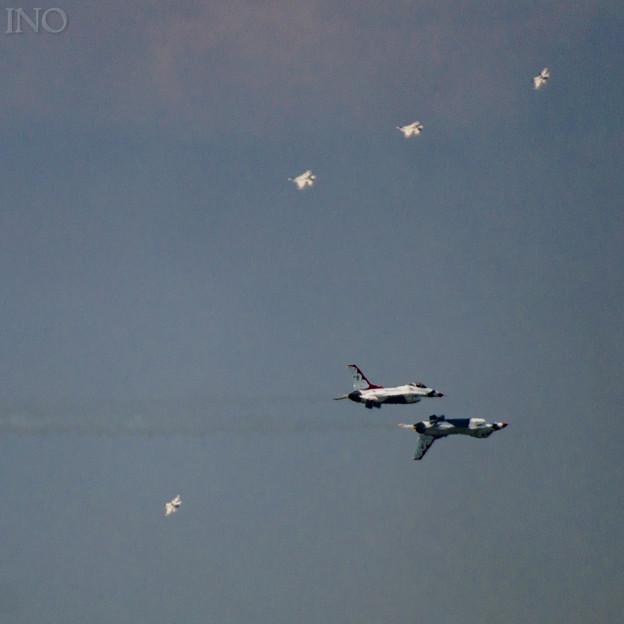Thunderbirds Reflection Pass