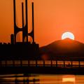 Photos: 遠き山に陽はおちて