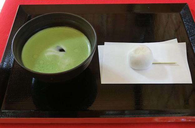 58抹茶冷やし・薯蕷饅頭