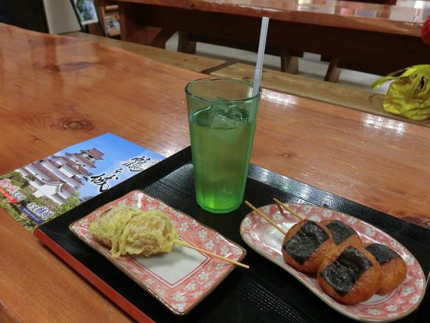59天ぷらまんじゅうと揚げ餅