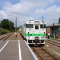 JR北海道 キハ40 石狩月形駅