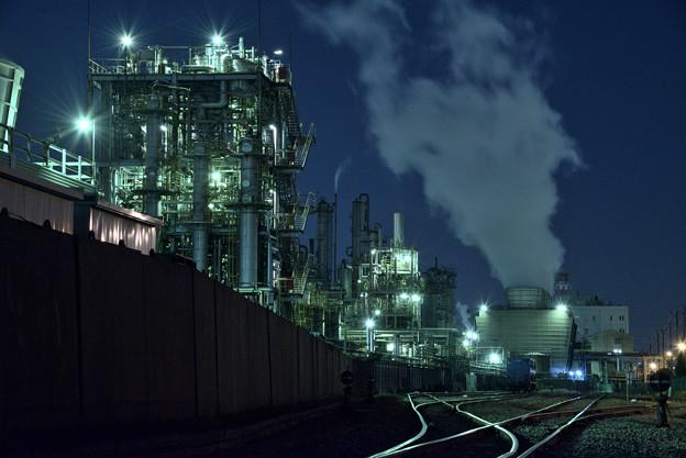 工場夜景1