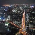 東京タワーから。