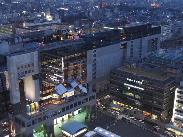 京都タワーから。その1