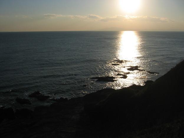 城ヶ島の夕陽