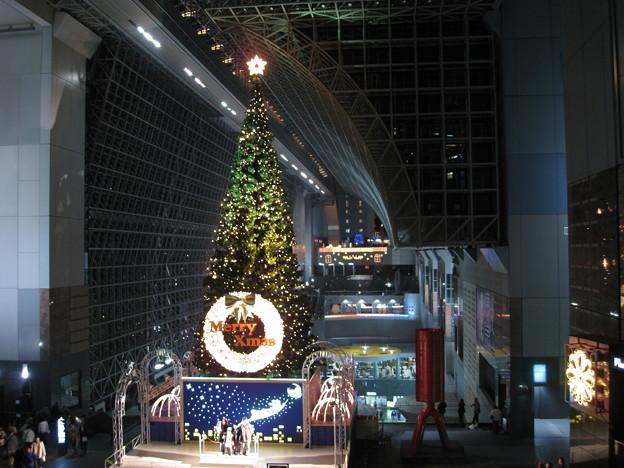 京都駅にて