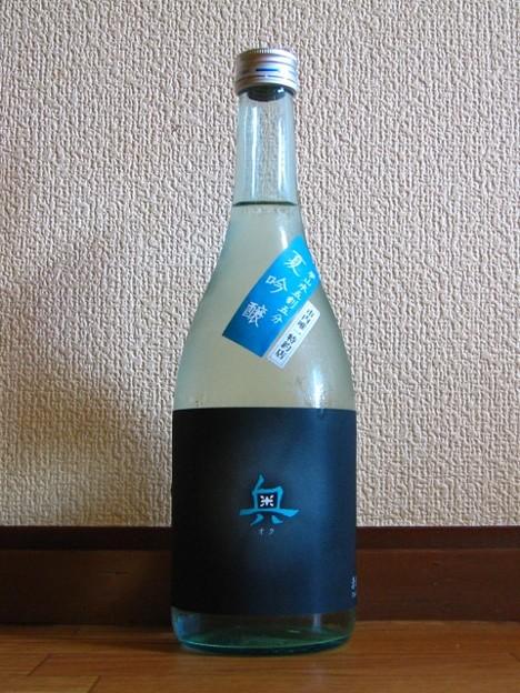 奥 夏吟醸 夢山水五割五分 純米吟醸