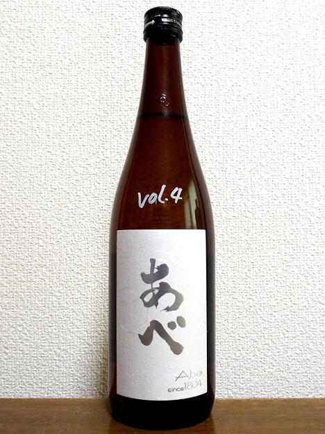 あべ 純米吟醸 Vol.4 越淡麗
