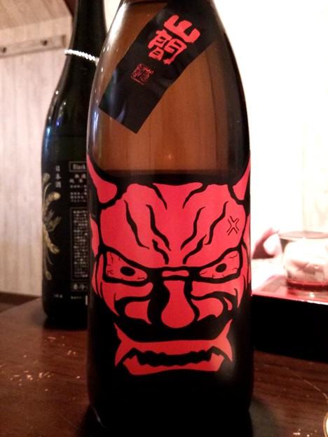 山間 鬼山間(赤)純米無濾過生原酒