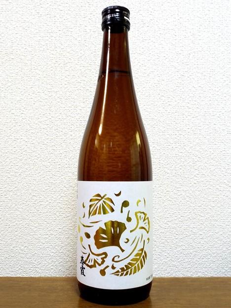 春霞 木の葉ラベル 純米