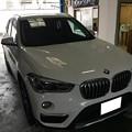 写真: BMW X1 レーダー探知機取り付け ユピテル 愛知県 名古屋市 ぎふけん