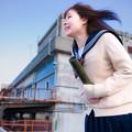 写真: 卒業の後に思いのたけを叫んでみた!