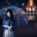 写真: 雨、そして...