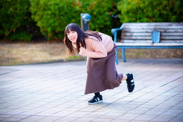 Photos: 走っちゃっていいでか?