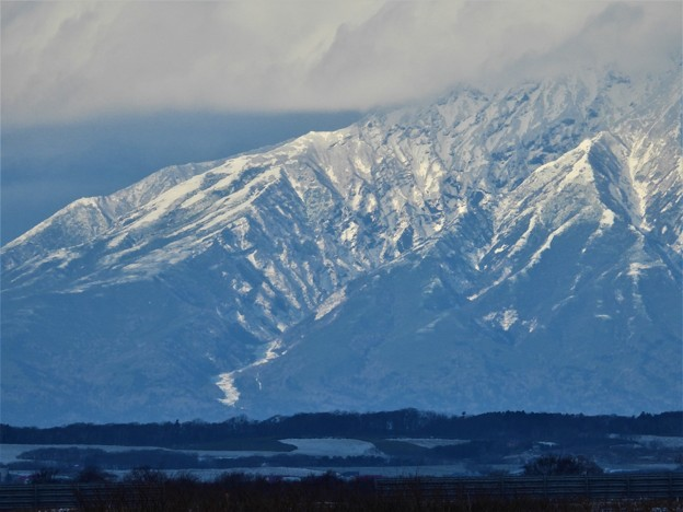Photos: 雪の利尻富士_2