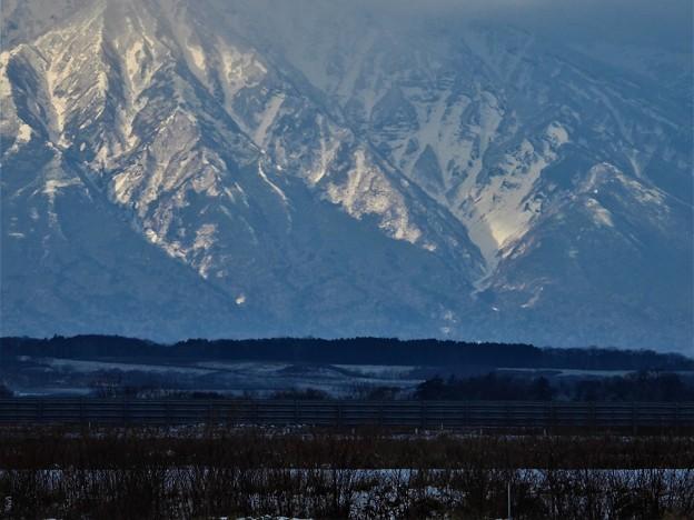 雪の利尻富士_3