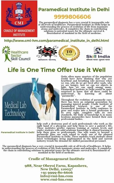 Paramedical Institute in Delhi