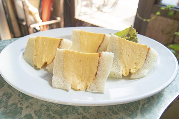 コロナの玉子サンドイッチ@喫茶マドラグ