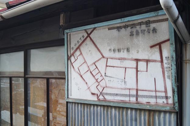 谷中 地図