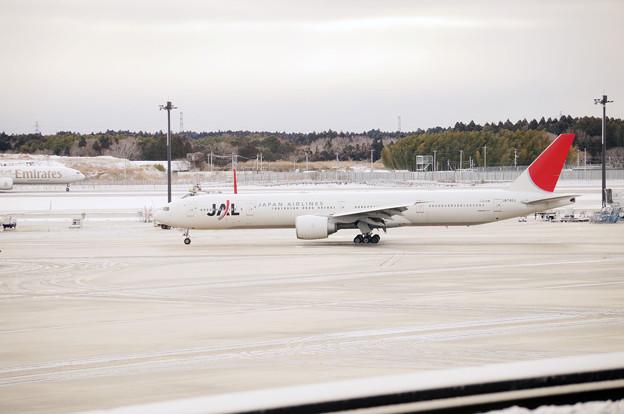 雪の成田空港 #10