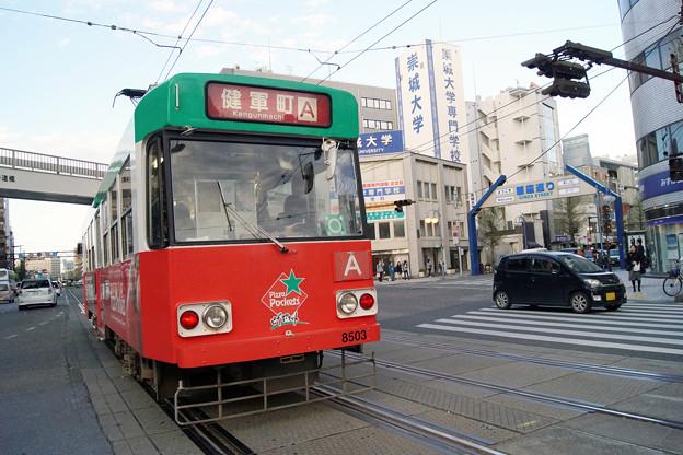 熊本市電 8503