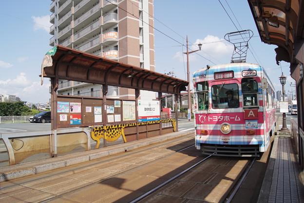 熊本市電 1092