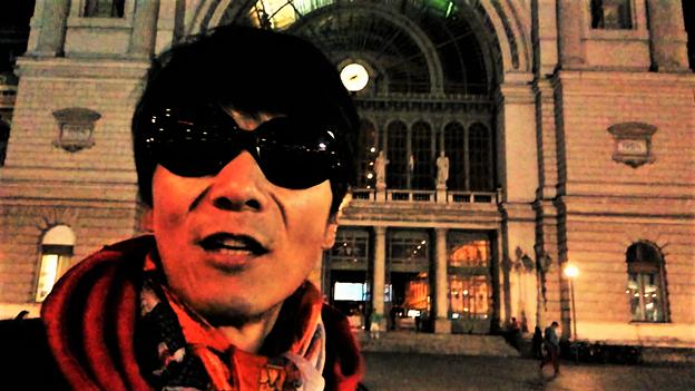 ブダペストの駅前