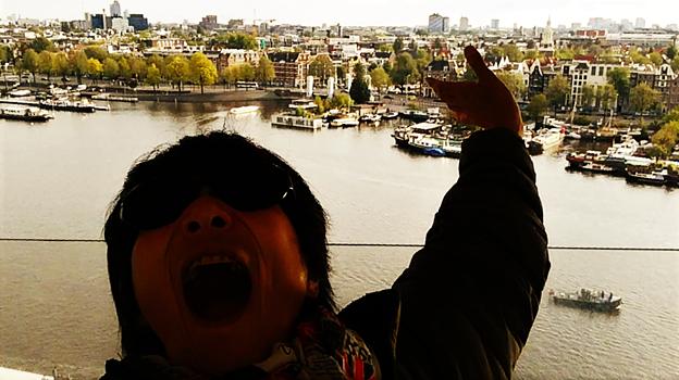 オランダ、アムステルダムの街
