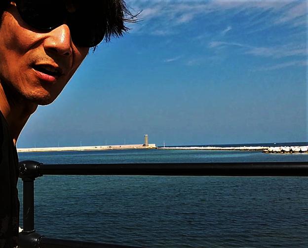 イタリア、バリの海