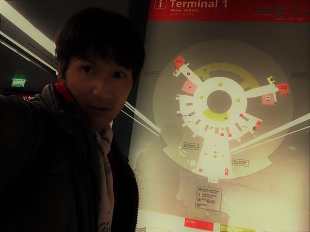 パリ、CDG空港