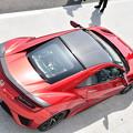 写真: NSX バレンシアレッド・パール