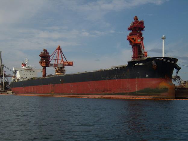Bulk carrier - JAIGARH の近影