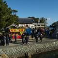 初詣で賑わう淡路島洲本古茂江の住吉神社