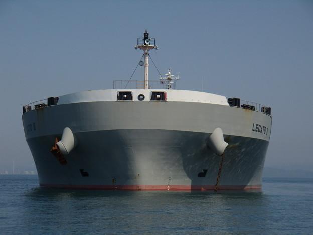 LEGATO II の船首のお顔