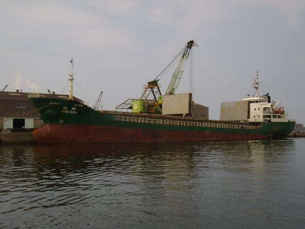 韓国船籍貨物船 HAE BOK
