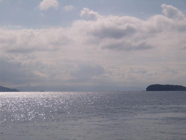 夏の終わりの紀淡海峡